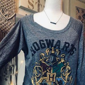 Harry Potter Hogwarts long sleeve shirt